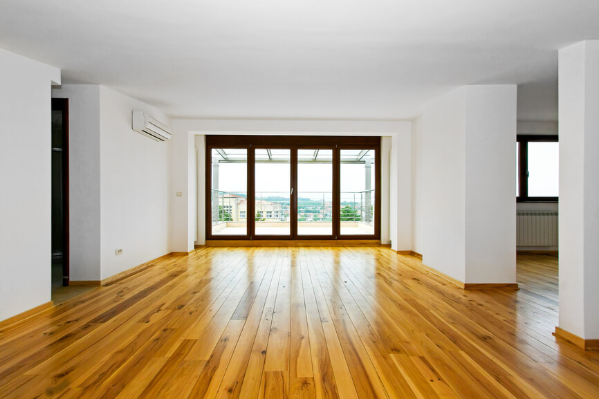 Empty living space